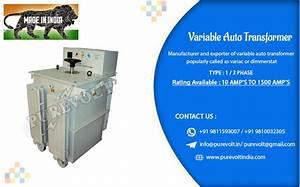 Manual Variable Auto Transformer Manufacturer  Manual