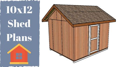 shed designs free 10x12 shed plans free