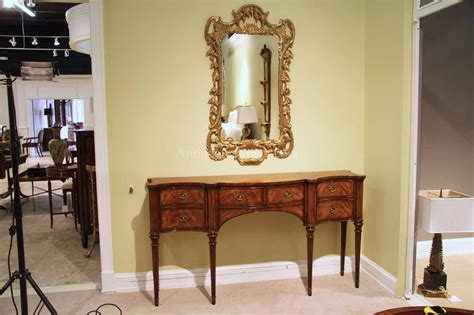 Dining Room Sideboard Buffet by Narrow Mahogany Sideboard For Dining Room Great Console Table