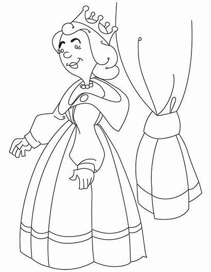 Coloring Medieval Princess Popular Zmb