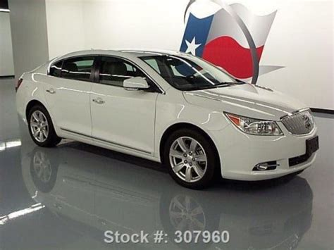 2012 Buick Lacrosse Premium 2 by Purchase Used 2012 Buick Lacrosse Premium 2 Climate Seats