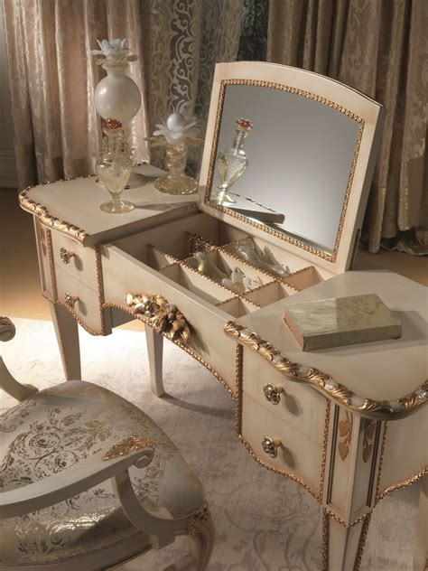 gold vanity table set bedroom luxurious bedroom interior design with mirrored