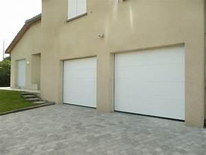 porte de garage sectionnelle motorisee hormann a lyon With porte garage lyon