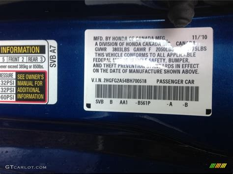 honda civic paint codes 2008 paint color ideas
