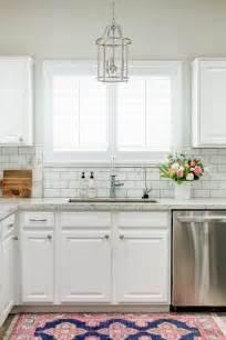 tile backsplash for kitchens with granite countertops white granite kitchen countertops with white subway tile backsplash transitional kitchen