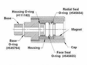 Ra20055 Robinair Kit  Seal J