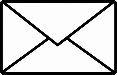Envelope Clip Mail Clipart Svg Icon Vector