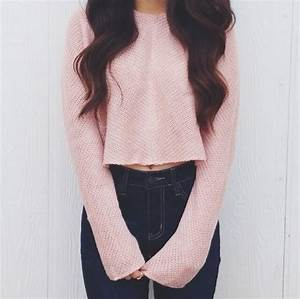 cosy pink sweater | Tumblr