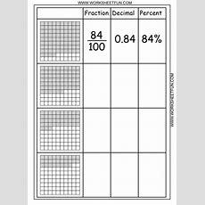Convert Between Percents, Fractions And Decimals  8 Worksheets  Printable Worksheets