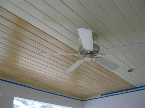 Installing A Beadboard Ceiling Materials And Methods : Installing Beadboard Ceiling Panels