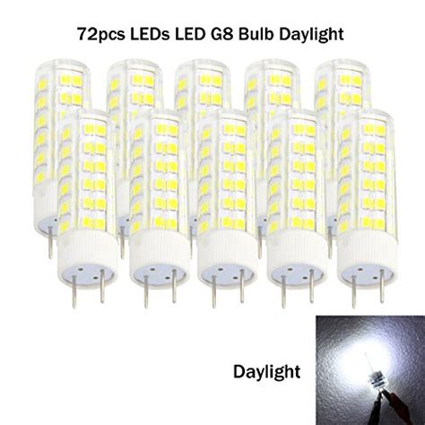 from usa ashialight g8 led light bulbs 120 volt g8 50w