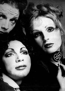 Holly woodlawn, Candy darling and Warhol on Pinterest