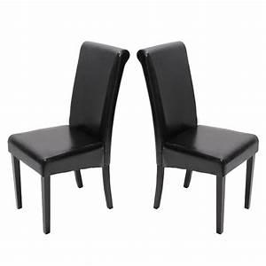 Esszimmerstühle Leder Schwarz : 2x esszimmerstuhl stuhl novara ii leder schwarz creme ~ Watch28wear.com Haus und Dekorationen
