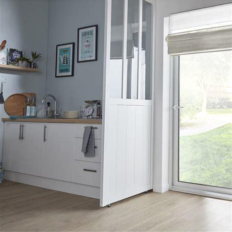 cloison cuisine cloison amovible atelier blanc h 240 x l 80 cm leroy merlin