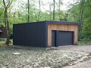 Garage Ossature Bois : maison bbc ossature bois 138 m proche de pont l 39 eveque ~ Melissatoandfro.com Idées de Décoration