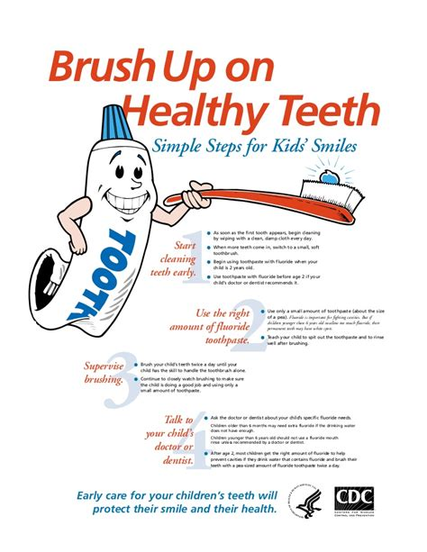 Brush Uponhealthyteethposter