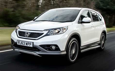 Honda Crv Wallpapers by 2014 Honda Cr V White Wallpapers And Hd Images Car Pixel