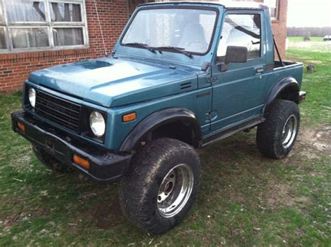 Lifted Suzuki Samurai For Sale by 1987 Suzuki Samurai 2 500 100379911 Custom Lifted