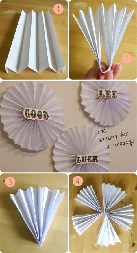 how to hang paper fans on wall decorate the sewing sessions