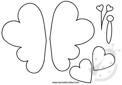 figure da ritagliare e ricomporre farfalle sagome da ritagliare lavoretti creativi