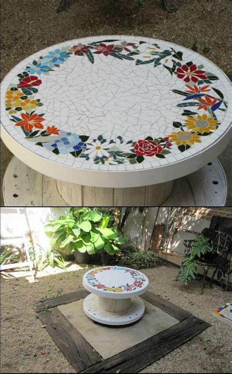 Mosaik Im Garten Ideen Für Mosaiktisch Und Gartendeko