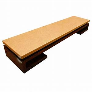 long low cork top coffee table bench by paul frankl for With long low coffee table