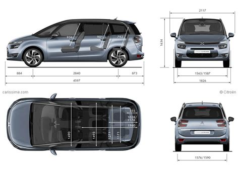dimension coffre c4 grand picasso dimensions coffre grand c4 picasso ii c4 picasso citro 235 n forum marques
