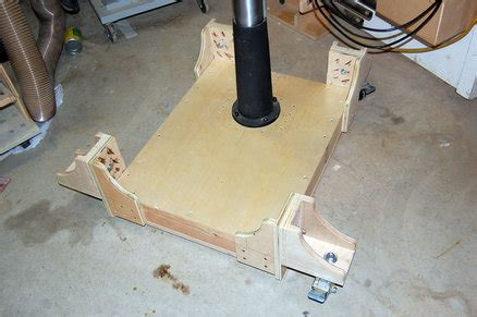 drill press mobile base  cabinets  tyvekboy