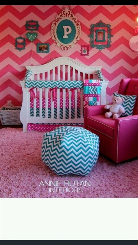 Turquoise Chevron Bedding by Crib Bedding Baby Bedding Bumperless Turquoise Teal