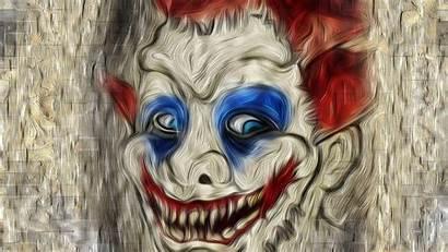 Clown Face Scary Wallpapers Killer Artist 1080
