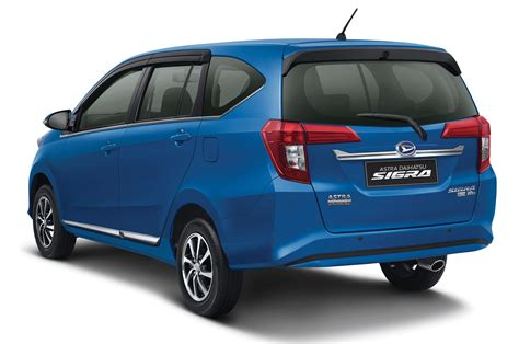 daihatsu rolls out new budget and family friendly sigra