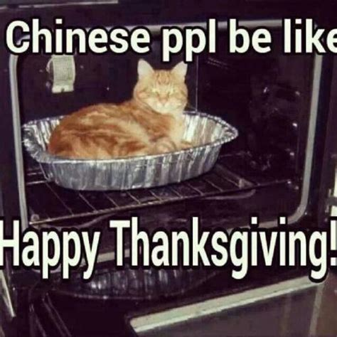 Happy Thanksgiving Memes - chinese ppl be like happy thanksgiving