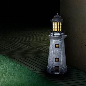 Leuchtturm Für Den Garten : vorgarten terrasse balkon garten leuchtfigur leuchtturm deko au enleuchte lampe ebay ~ Frokenaadalensverden.com Haus und Dekorationen