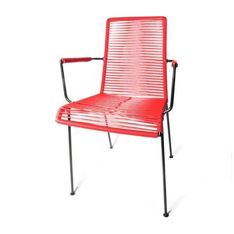 chaise scoubidou la chaise fil avec accoudoir de boqa fauteuils et