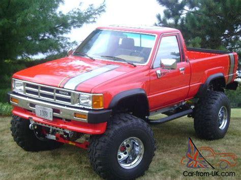 1986 Original Toyota Gas (not Diesel), Turbo Truck 4x4