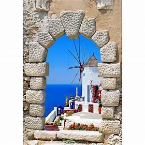 Papier Peint Geant : papier peint g ant moulin bord de mer stickers autocollants ~ Premium-room.com Idées de Décoration