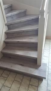 Marche D Escalier En Chene : escalier en parquet nez de marche pour parquet et sol stratifi un nouvel escalier ou r nover ~ Melissatoandfro.com Idées de Décoration