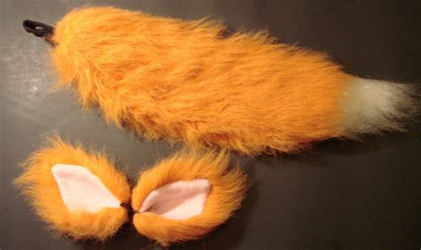 Furry Fox Costume Tail And Ears Set Reserved For
