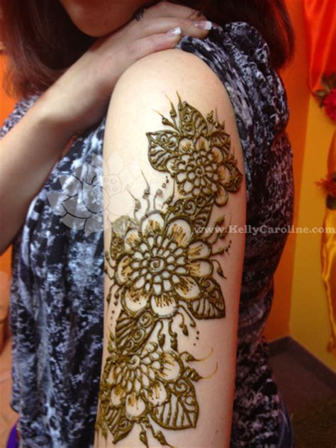 henna on arm archives caroline