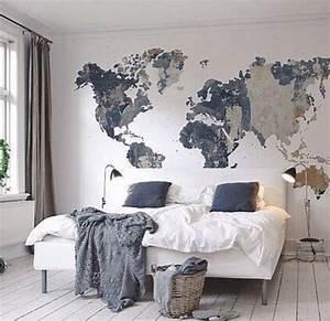 cool map mural See various wall mural designs at http ...