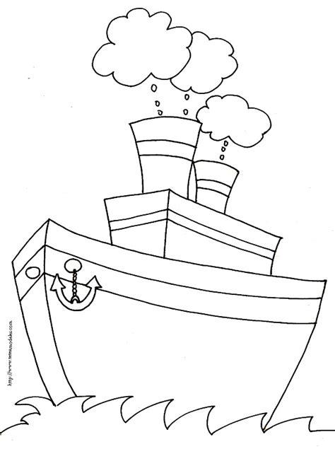 Dessin Ancre Bateau Facile by Coloriages De Bateaux Divers T 234 Te 224 Modeler