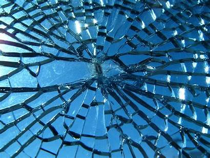 Broken Cracked Screen Glass Wallpapers Realistic Shattered