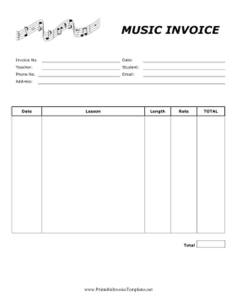 teaching invoice template  facts  teaching invoice