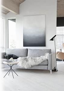 Salon Gris Blanc : salon couleur taupe gris anthracite ou gris clair ~ Dallasstarsshop.com Idées de Décoration