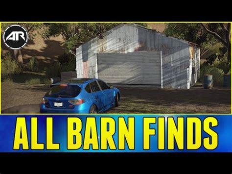 forza horizon barn finds forza horizon 3 all barn finds locations