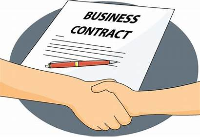 Contract Clipart Agreement Contracts Deal Clip Basics