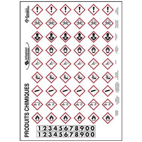 cuisine maxi planche pictogrammes produits dangereux protecnord pictogrammes
