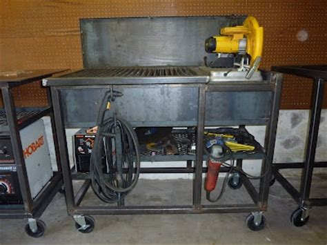 Jim Aderhold's Welding And Metalworking Hobby Chop Saw