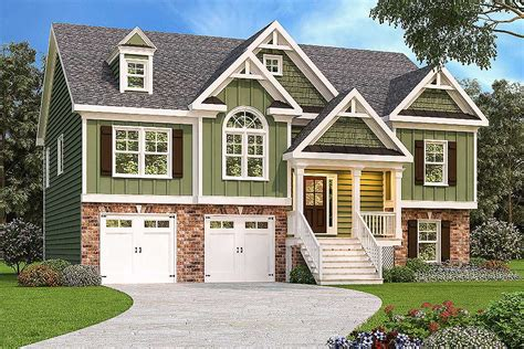 Split Level Home Plan With Virtual Tour