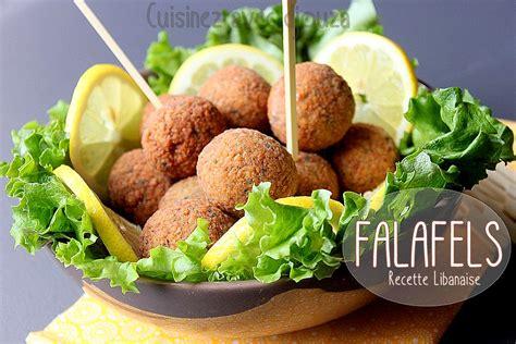 cuisine libanaise facile falafels libanaises aux pois chiches recettes faciles